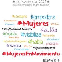 Campaña 8M 2018 Diputaciones de Andalucia
