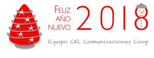 Felicitacion Navidad CKL 2018